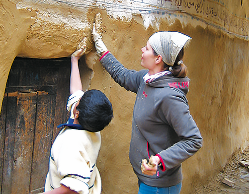 cisv international peoples project egypt walls